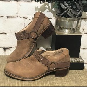 Distressed Redwing Ankle Boots Leather 7.5